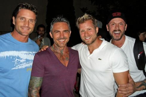 Reichen, Brandon, Craig, and Mark