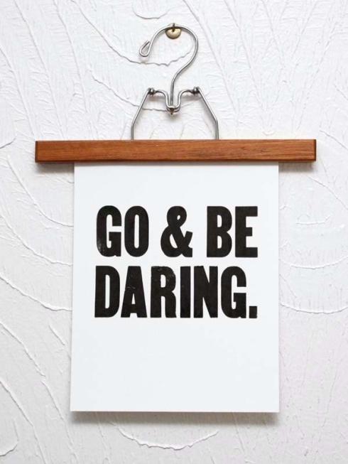 go be daring