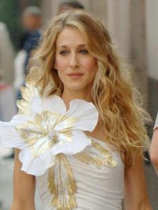 carrie-bradshaw-wavy-hair