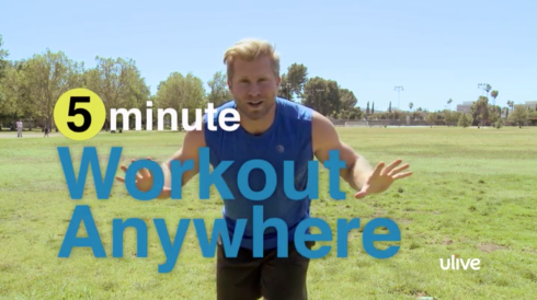 5 minute Workout Anywhere