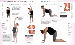 StretchingPregnancyGoodMorningStretch